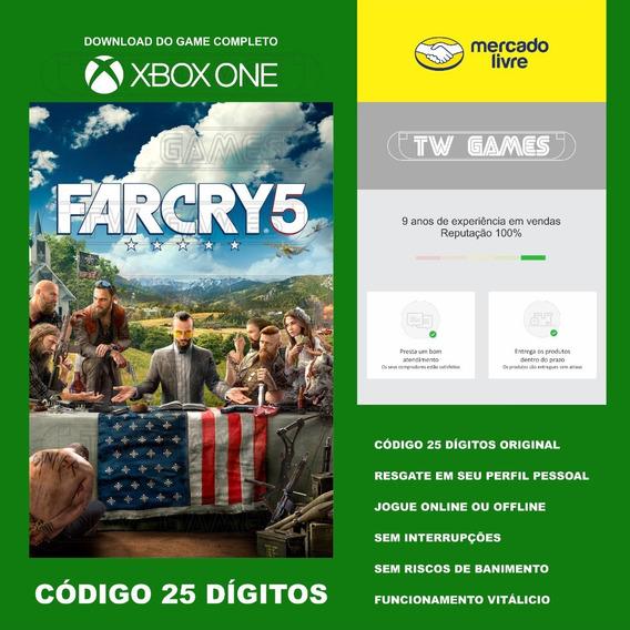 Far Cry 5 Codigo 25 Digitos Xbox One Fat S X