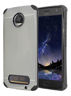 Funda Aluminio + Cristal Case Protector Moto Z2 Play Xt1710