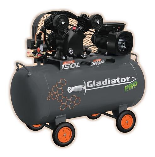 Compresor Gladiator De Banda 150 Litros 3hp Centrocolor