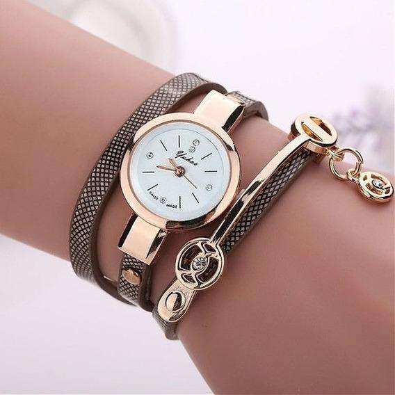 Relógio Feminina De Pulso Luxo