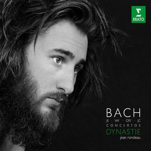 Bach Rondeau, Jean Five Concertos For Harpsichord Lp Us Imp