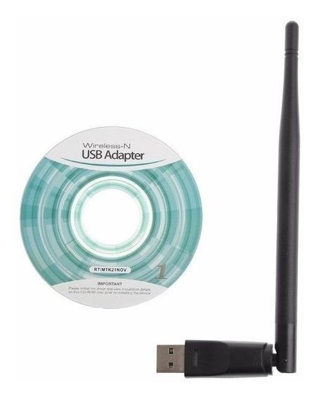 Adaptador Usb 2.0 Wireless 5dbi Wifi Modem Antena 2.4 Ghz