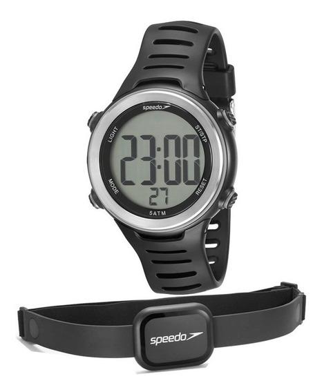 Relógio Speedo Masculino Monitor Cardíaco 66001g0emnp1