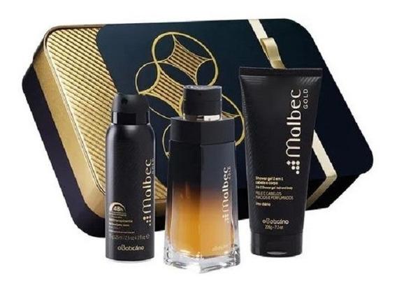 Kit Presente Malbec Gold - O Boticário