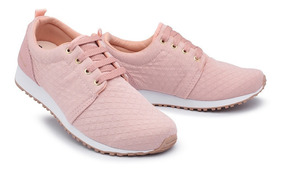 Tenis Feminino Promoção Caminhada Corrida Conforto 091