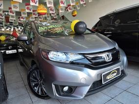 Honda Fit Ex 1.5 Automático Cvt Completo Financia E Troca