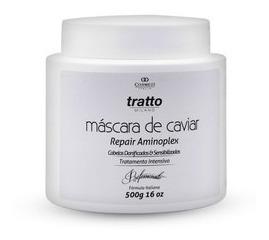 Máscara Cabelos Danificados Caviar & Aminoplex 500g Cosmezi