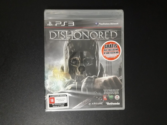Dishonored Ps3 Lacrado