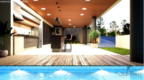 Lindo Projeto, Casa No Terras De Atibaia, 3 Suites - Ca00432 - 34149994