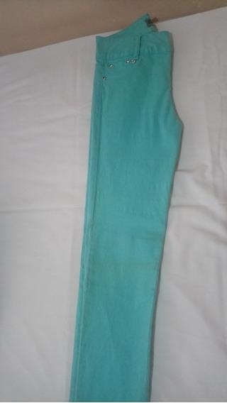 Pantalón Stretch De Mezclilla Para Mujer