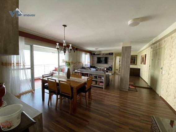 Apartamento Com 3 Dormitórios À Venda, 126 M² Por R$ 770.000 - Jardim Wanda - Taboão Da Serra/sp - Ap0803