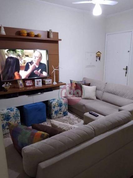 Apartamento No Residencial Barão De Cascais Vila Jardini.com 2 Dormitórios Para Alugar, 51 M² Por R$ 800/mês - Vila Carvalho - Sorocaba/sp - Ap1005