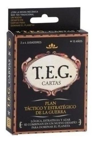 Imagen 1 de 5 de Juego De Mesa - Teg Cartas - 6 Cuotas