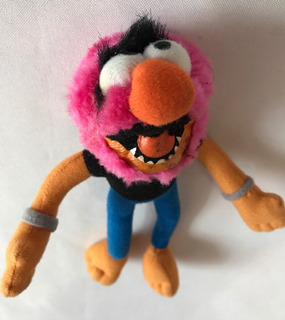 Peluche Miniatura De Animal Muppets Original Mcdonalds 18x8