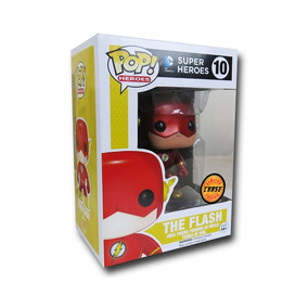 Boneco The Flash Super Herois Funko Pop! Chase Dc Comics
