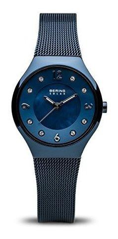 Bering Time 14427-393 Reloj Para Mujer Con Correa De Acero I