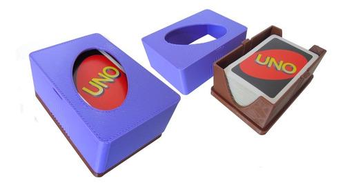 Imagen 1 de 1 de Caja Para Juego Uno, Realizada En Impresión 3d, Elije Color