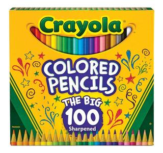 Colores Crayola Lapices De 100 Uni - Unidad a $1000