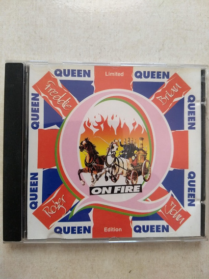 Cd Queen - On Fire Limited Edition - Excelente Estado!