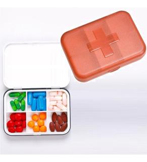 Caixa Porta Comprimido Organizador Semanal 6x Dia Remédio