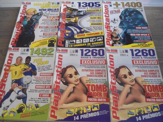 Revista Dicas & Truques Playstation 6 A 12 - Preço Cada