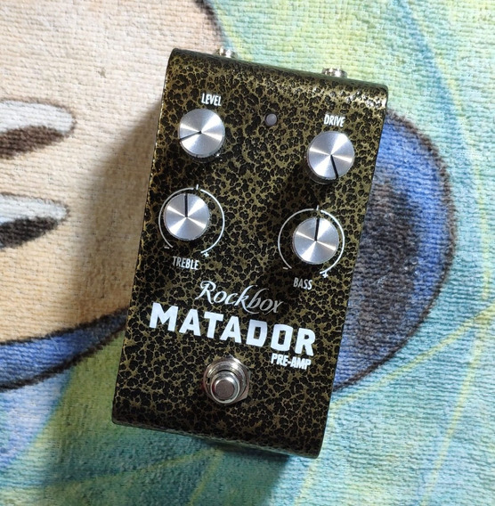 Rockbox Matador Preamp -trocas- Willaudio
