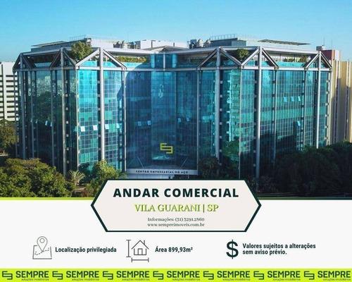 Imagem 1 de 26 de Andar Corporativo Para Alugar, 899 M² - Vila Guarani (zona Sul) - São Paulo/sp - Ac0169