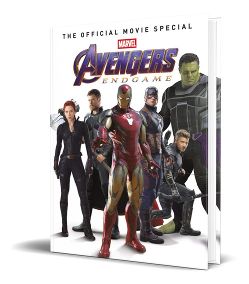 Libro Avengers Endgame The Official Movie Special