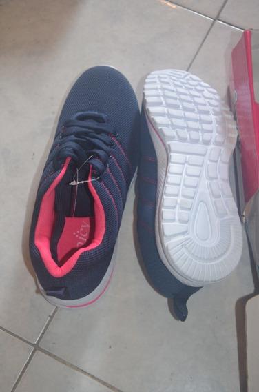 Zapatos Deportivos Azules Por 15 Verd Ess