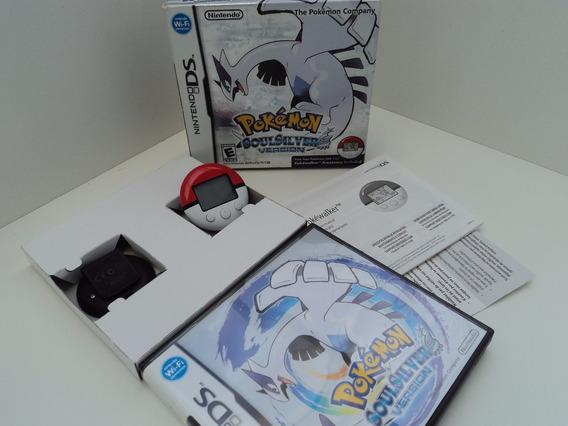 Pokémon Soul Silver - Nintendo Ds/3ds - Em Ate 12x Sem Juros