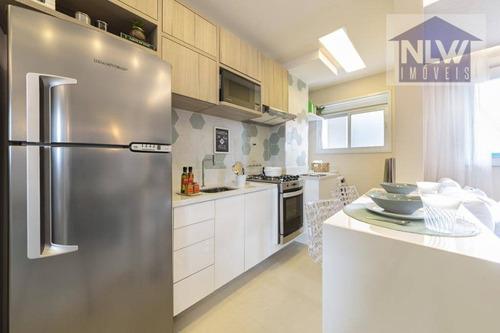 Apartamento À Venda, 44 M² Por R$ 218.500,00 - Castelo - Santos/sp - Ap2271