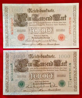 Cédula Alemanha Selo Verde, Albania, Hungria E Moeda Irlanda