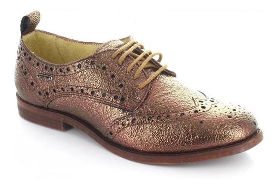 Zapato Para Mujer Pepe Jeans 180601-049915 Color Cobre