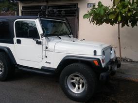Jeep Wrangler 5vel Techo Duro Aa Mt