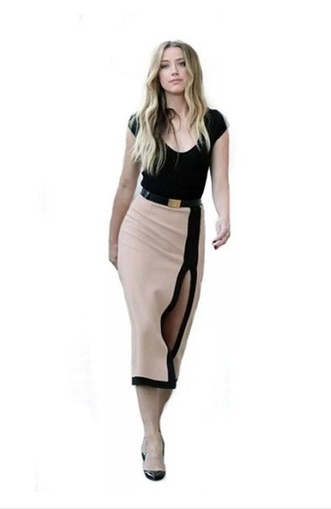 Elegante Vestido Blusa Falda 2 En 1 Moda Casual 5107