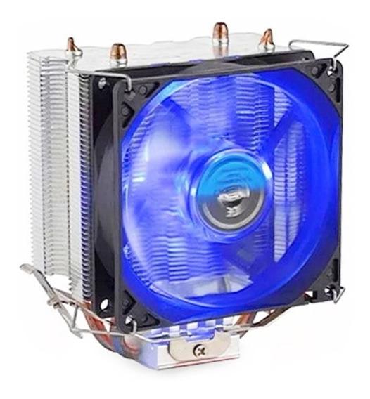 Cooler P/ Processador Gamer Dex Dx-9000 Led Azul Intel Amd