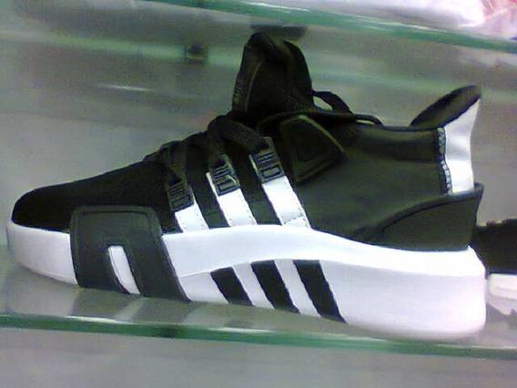 Tenis adidas Eqt Basquete Preto E Branco Nº42 Original