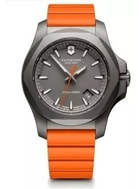 Relógio Victorinox I.n.o.x. Titanium Laranja 241758