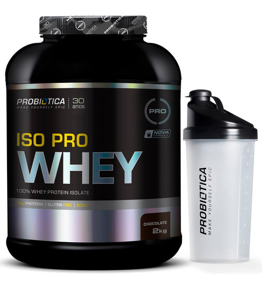 Iso Pro Whey ( Whey Isolado ) 2kg - Probiótica