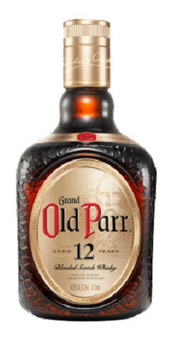 Whisky Old Parr 12 Años Blended Escoces 0,75 Litros Lf