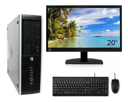 Imagem 1 de 6 de Computador Hp Pro Core I3 3ªg 8gb Hd 320gb Wifi Monitor 20