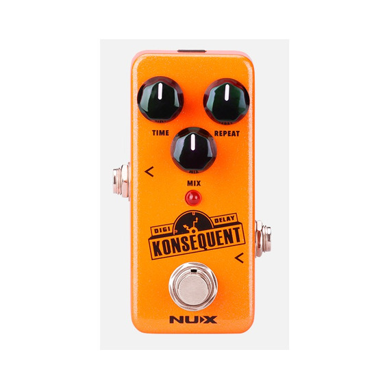 Pedal De Guitarra Nux Konsequent Ndd2 Digital Delay