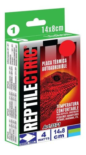 Imagen 1 de 2 de Placa Térmica Para Terrario Reptiles 8x14cm 4 Watts 3571