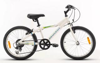 Bici Peugeot Rod 20 Con 6 Vel Shimano En New Blank Belgrano
