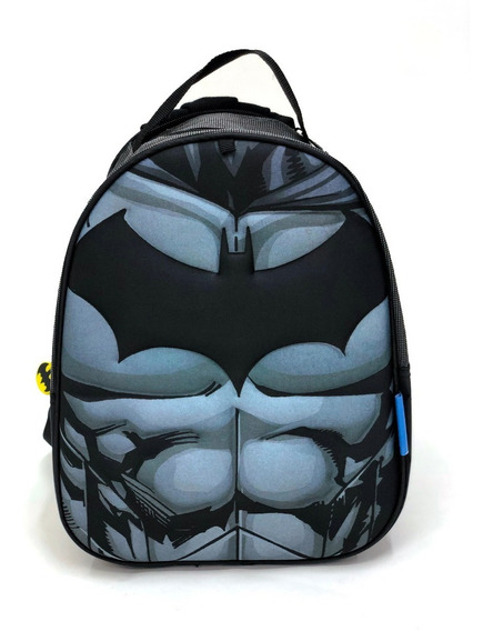Mochila Jardin Batman Flash Super Heroes Con Capa