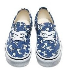 Tenis Vans Peanuts Authentic Snoopy Skating Vn0a38h3oqw