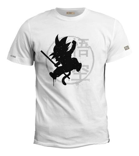 Camisetas Estampadas Anime Dragon Ball Super Goku Hombre Eco