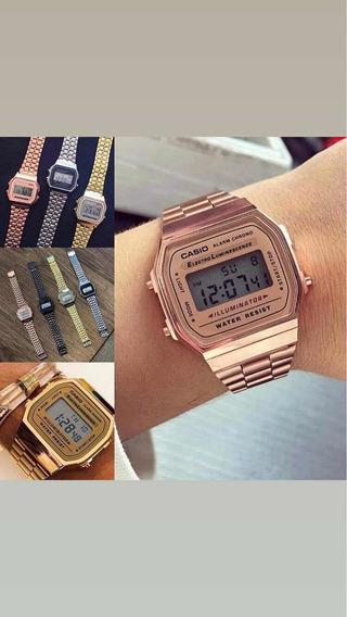 Relógio Cásio Vintage Unissex 1ª Linha Promoção Só Hoje