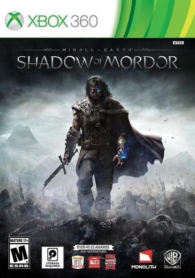 Sombras De Mordor - Original - Mídia Física Para Xbox 360