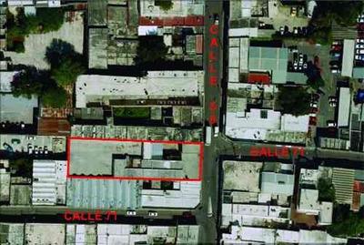 Se Renta Local Comercial De 1,206 M2 En Calle 58, Centro De Mérida